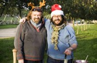 Hairy Bakers' Christmas special_BBC Pictures