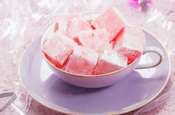 Rose Turkish delight recipe