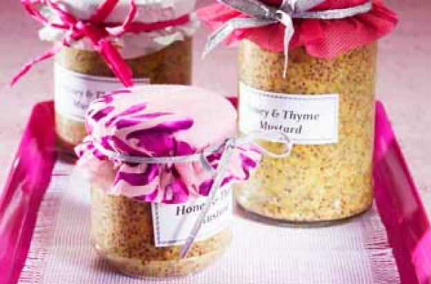 Honey and thyme mustard