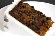 Pineapple and cranberry fruitcake