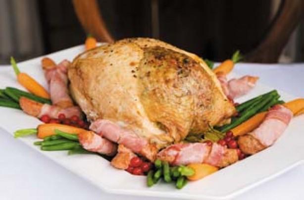 Turkey Sausage Veg 13K Рождественская индейка – готовим