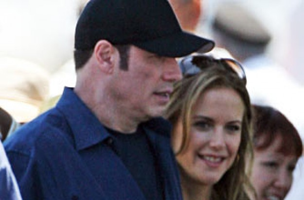 John Travolta and Kelly Preston_Rex