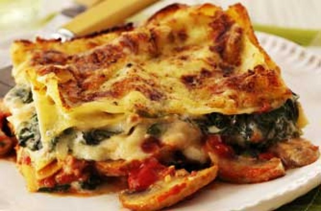 Cheat's lasagne