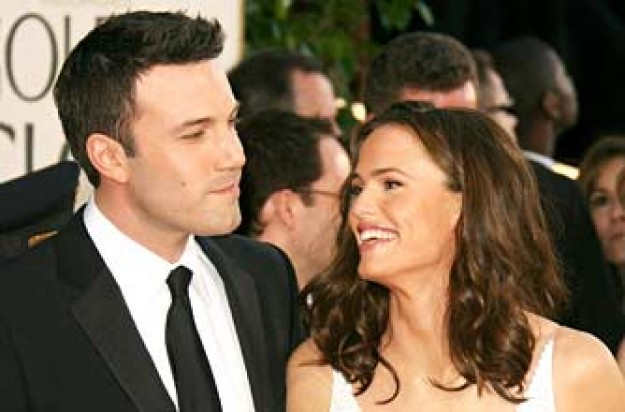 Jennifer Garner and Ben Affleck at the 64th Annual Golden Globe Awards_Rex