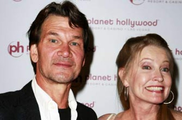 Patrick Swayze and his wife Lisa Niemi_Rex
