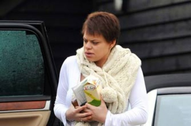 Showbiz, Jade Goody after chemo_Rex