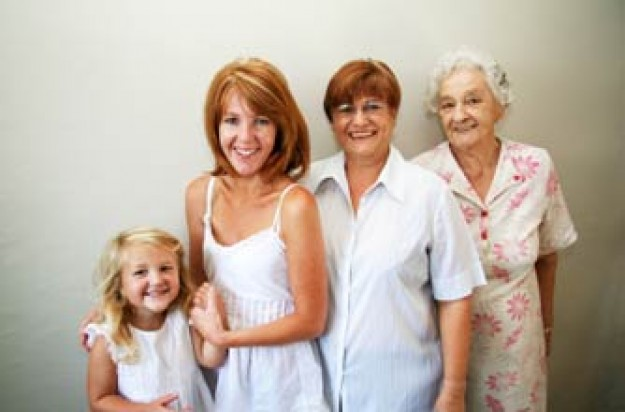 four generations of women_IStock