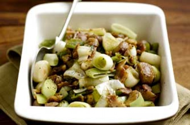 Leeks and chestnuts_British Leeks