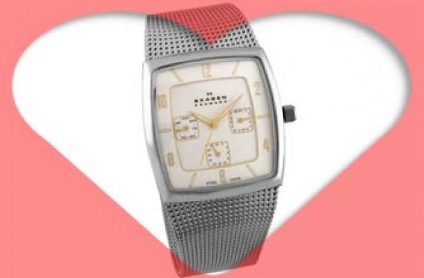 Valentines gift: Men's Skagen Date Watch