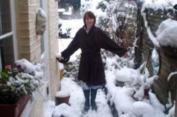 Your snow pictures, Jolene snow