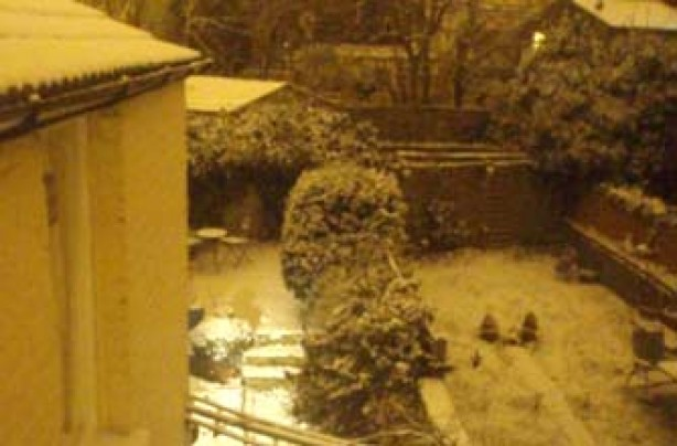 Your snow pictures, Night-time snow