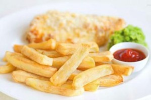 Paul Bloxham's simple fish and chips