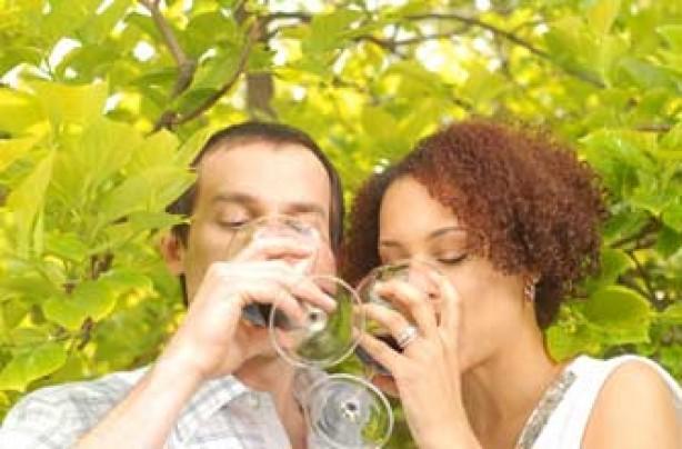 Couple wine tasting_istock