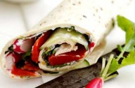 Salmon wrap with horseradish_Alaska Seafood