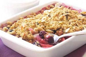 Blackberry crumble_James Martin