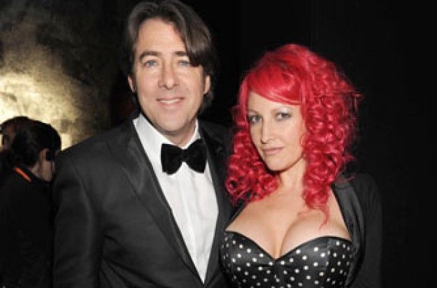 Jonathan Ross and wife