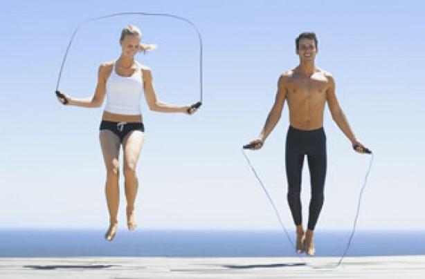 Fat burning exercises skipping exercises