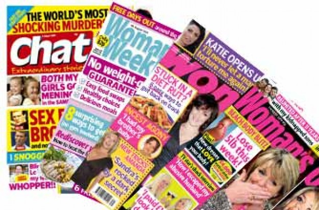 Woman magazine, Woman's Weekly, Woman's Own, Sister mags, Chat 27 - 29 July