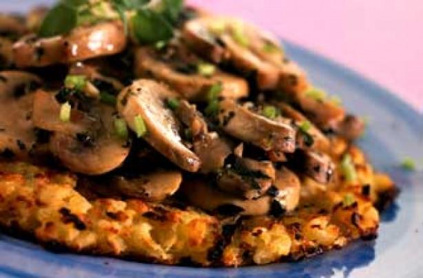 Swiss mushroom rosti