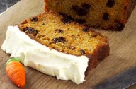 Carrot and raisin loaf