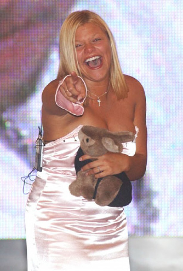 Jade Goody comes third in Big Brother 3, August 2002