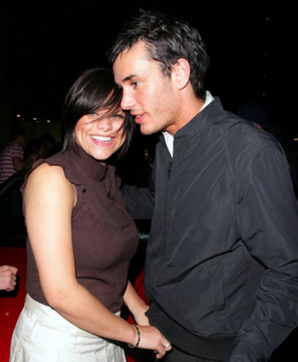 Jade Goody and Jack Tweed out and about, February 2006