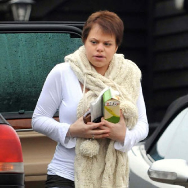 Jade Goody leaving home, december 2008