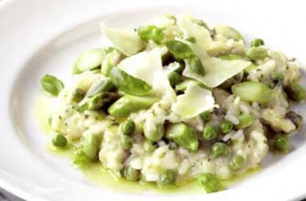 Asparagus spring risotto recipe