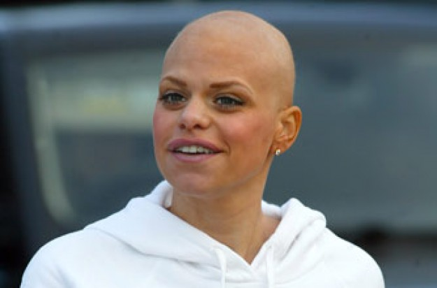Jade Goody before her wedding