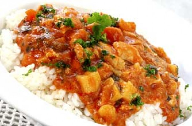 Skinny chicken tikka masala with fragrant rice recipe - goodtoknow