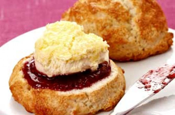 Woman's Weekly gluten-free scoop scones recipe