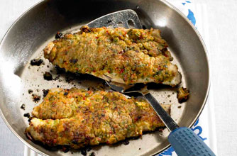 Caribbean-style fried fish | Woman's Weekly recipe recipe - goodtoknow