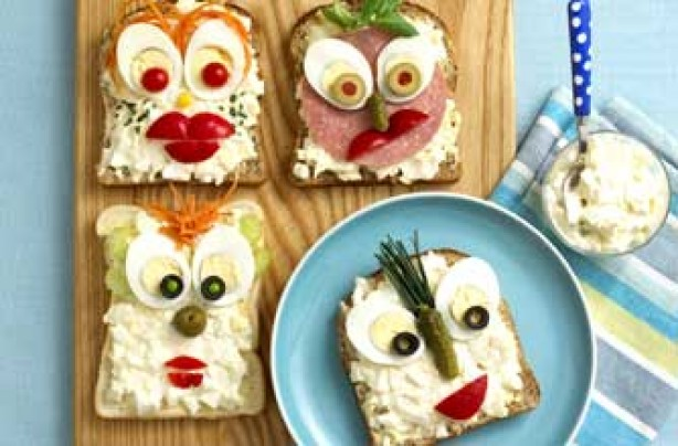 10 best recipes for kids aged 3 6 years old egghead sandwiches goodtoknow - Fun food to make with kids ...