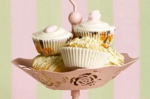 Rachel Allen's iced vanilla cupcakes