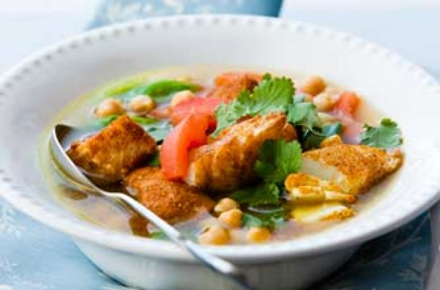 Moroccan fish soup