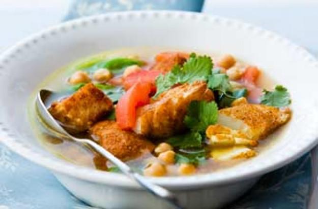 Woman 39 s weekly moroccan fish soup recipe goodtoknow for Moroccan fish recipe