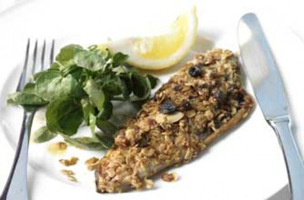 Simon Rimmer's mackerel rolled in oats
