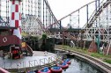 Blackpool pleasure beach rollercoasters