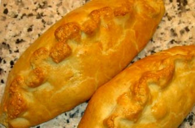 Lindsay Crozier's meat and potato pasties