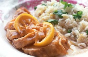 Bill Granger's lemon chicken