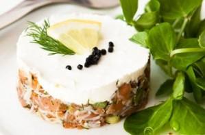 Crab tartare