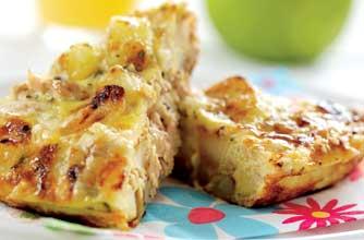Phil Vickery's potato, apple and tuna frittata recipe - goodtoknow