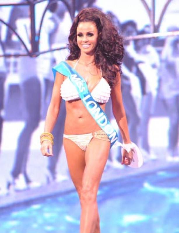 Katie Price, aka Jordan, in her bikini