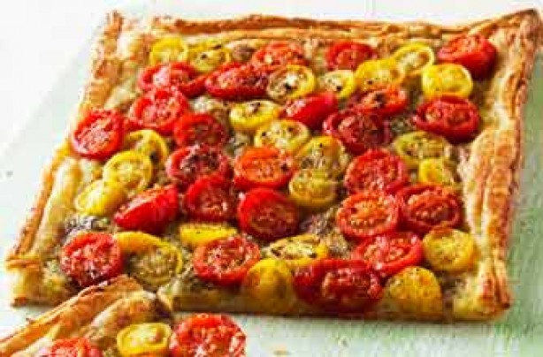 Woman's Weekly's tomato tart recipe