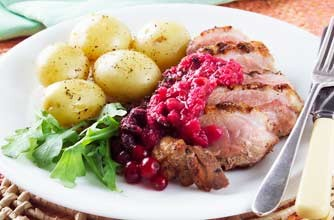 duck with redcurrant relish woman s weekly recipe duck recipes