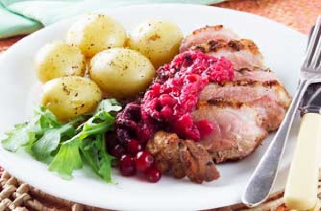 Woman's Weekly's duck and redcurrant relish
