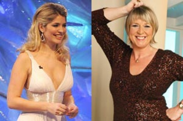 Holly Willoughby and Fern Britton