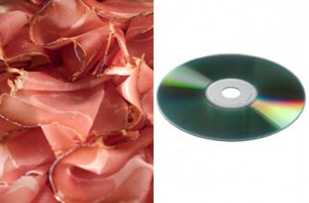 Portion sizes, diet - ham