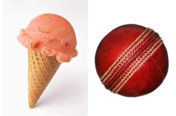 Portion sizes, diet - ice cream