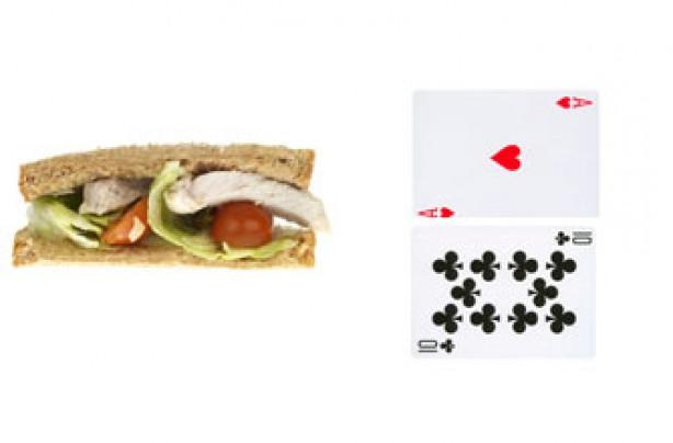 Portion sizes, diet - sandwich